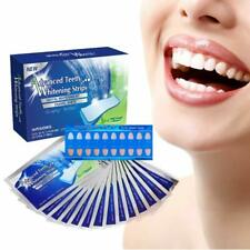 28 Advanced Professional Teeth Whitening Strips Home Bleaching White Effects