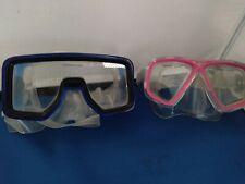 US DIVERS Scuba Snorkeling Masks Goggles Adult Tempered Glass Adjustable Strap