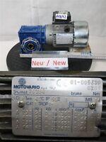 MOTOVARIO 0,18 kW 45 Minimum nmrv040 Motoréducteur t63b4 Boîte de vitesse