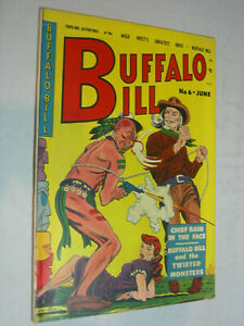 Buffalo Bill #6 VG+ Bondage GGA Heathen with a gun cool cover