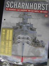 SCHARNHORST* Ausgabe 28 * Hachette Modellbau-Sammelreihe