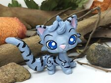 "Littlest Pet Shop, ""Jayfeather� Warrior Cat, Ooak Custom, Hand Painted, Lps"