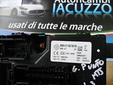 CENTRALINA BODY COMPUTER BSI FIAT GRANDE PUNTO