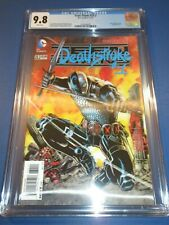Teen Titans #23.1 Deathstroke #1 3D Variant CGC 9.8 NM/M Gorgeous Gem Wow