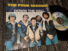 """THE FOUR SEASONS DOWN THE HALL/I BELIEVE IN YOU 7"""" SINGLE 1977 WARNER BROS SPAIN"""
