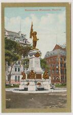 Canada postcard - Maisonneuve Monument, Montreal