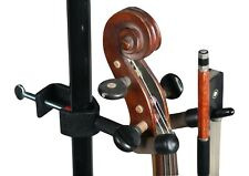 NEW String Swing violin & bow music stand microphone stand hanger Made in USA
