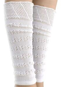 Soft Knitted Lace Boot Leg Warmers / Dancewear