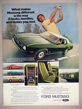 Ford Mustang PRINT AD - 1973