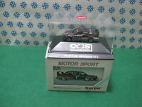 "Vintage  -  MERCEDES_BENZ 190 E AMG "" Boss-Sonax "" - H0 1/87 Herpa  M. Sport"