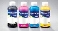4x 100ml InkTec® Tinte refill ink Kit für Epson EcoTank ET-2700 ET-2750 ET-3750