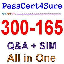 Cisco Best Practice Material For 300-165 Exam Q&A PDF+SIM