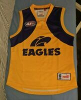 West Coast Eagles AFL 2008 guernsey jersey jumper heritage PROTOTYPE NEW Small S