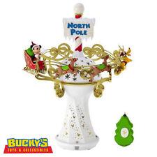Disney Mickey Mouse Oh, What Fun Tree Topper Magic Light & Music Hallmark Pluto