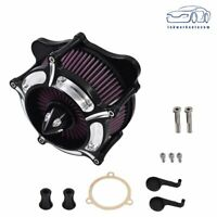 Air Cleaner Intake Turbine Filter For Harley Touring Softail Dyna Glide Rocker