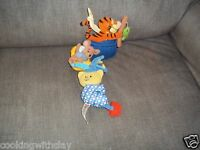 DISNEY WINNIE THE POOH A.A. MILNE AVON EARLY YEARS MUSICAL PULL TOY CRIB TIEOUT