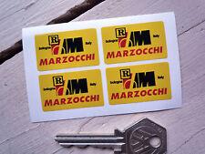 MARZOCCHI Forks & Shocks STICKERS Set of 4 Moto Guzzi Ducati MV Morini Aprilia