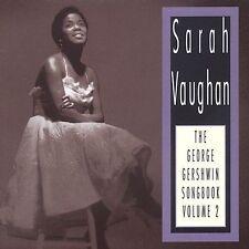 """SARAH VAUGHAN (CD) """"THE GEORGE GERSHWIN SONGBOOK VOLUME 2 1990 EMARCY/POLYGRAM"""