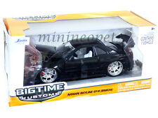 JADA BIGTIME 96812 NISSAN SKYLINE GT-R GTR BNR34 1/24 DIECAST BLACK