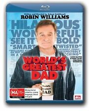 World's Greatest Dad - Robin Williams (Blu-ray) Brand New, Genuine & Sealed D40
