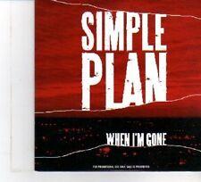 (DW498) Simple Plan, When I'm Gone - 2007 DJ CD