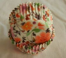 100 colorful peony white mini cupcake liner muffin 30x20mm