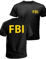 FBI t-shirt, government agent t-shirt, secret service, police, CIA t-shirt