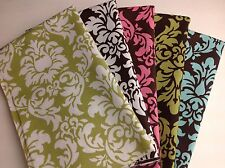 Michael Miller Dandy Damask Fabric Fat Quarter Bundle 100% Cotton Quilt