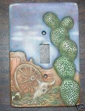 Ceramic mold, Jay-Kay switch plate cover Desert scene