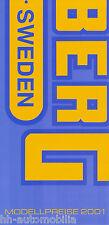 0001HU Husaberg Preisliste 2001 FC 470/6 550/4 550/6 FE 400 e 501 e 650 e FX 470