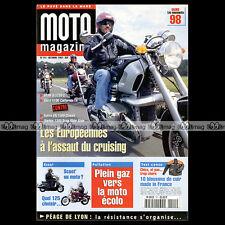 MOTO MAGAZINE N°141 YAMAHA ROYAL STAR HONDA F6C VALKYRIE TRIUMPH 900 THUNDERBIRD