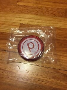 Pure Barre Red Plastic Compact Mirror New In Packaging