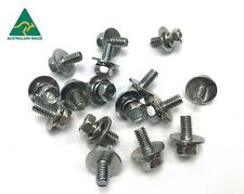 Holden LH LX Seat Bolts & Washers x 16 Australian Made NOS Replicas pn4