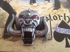 Boucle de ceinture Motörhead Heavy Metal Punk Lemmy Kilmister Hellfest