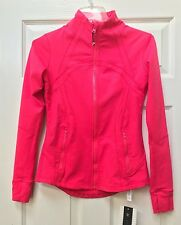 NEW WITH TAGS ( NWT ) Lululemon Coral ( Red / Pink ) Forme Jacket Womens Size 6