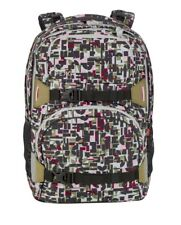 4YOU Pekka set Schulrucksack und Pencil Case Geometric Sheen 34100