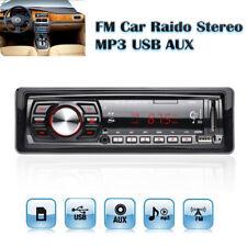 50W x 4CH Car Auto Stereo Audio In-Dash USB FM MP3 Music Radio Player AUX-IN US