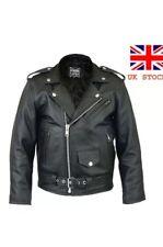 Brando Perfecto Ramones Harley Biker Racer Kids Jacket Child Real Leather NWT