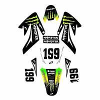 MONSTER 3M CRF70 Graphics high spec DECALS sticker pit dirt bike thumpstar wpb