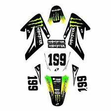 MONSTER 3M CRF70 Graphics high spec DECALS sticker pit dirt bike thumpstar wpb