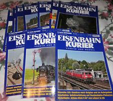22 Eisenbahn Zeitschriften Eisenbahnzeitschrift EisenbahnKurier Eisenbahn Kurier