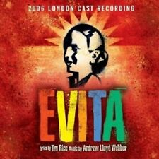 2006 LONDON CAST RECORDING - EVITA  CD  20 TRACKS ANDREW L. WEBBER MUSICAL  NEU