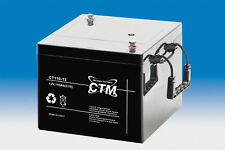 CTM CT 110-12 VdS Batterie - 110 Ah - 12 V