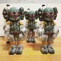 1PCS 10 inch OriginalFake KAWS Boba Fett Companio by Kaws for Star Wars 30th Toy