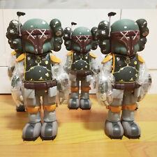 1PCS 10 inch OriginalFake KAWS Boba Fett Companio by Kaws for Star Wars 30th Toy