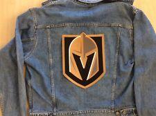 """VEGAS KNIGHTS JERSEY PATCH NHL TEAM JERSEY CHEST EMBLEM  12"""" x 8 3/4"""" PLAYOFFS"""