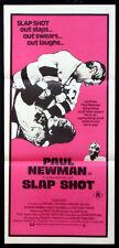 SLAP SHOT SLAPSHOT PAUL NEWMAN ICE HOCKEY 1977 AUSTRALIAN DAYBILL MOVIE POSTER