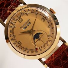 JAEGER-LECOULTRE TRIPLE DATE MOONPHASE, 14K, 1949 - IMMACULATE!