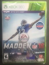 🏈Brand New!!! Madden NFL 16 (Microsoft Xbox 360, 2015) Factory Sealed!!!🏈