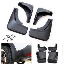 4PCS Black Plastic Car Splash Guards Mud Flaps Mudguard Kit Fit For Honda Accord